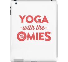 Yoga With The Omies iPad Case/Skin