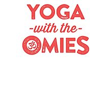 Yoga With The Omies Photographic Print