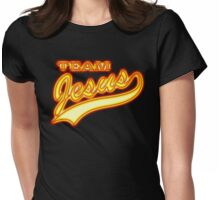 Team Jesus Christ Son of God Lord Womens Fitted T-Shirt