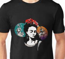 Frida in technicolour Unisex T-Shirt