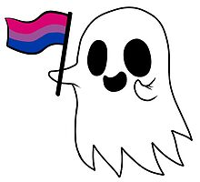 Bisexual Pride Ghost by RessQ