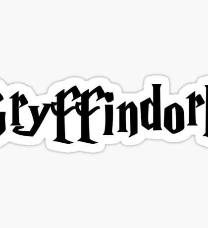 gryffindork Sticker