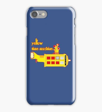 YELLOW TIME MACHINE  iPhone Case/Skin