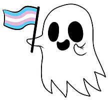 Trans Pride Ghost by RessQ