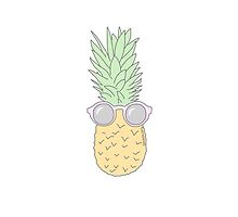 cool pineapple by princesscareee
