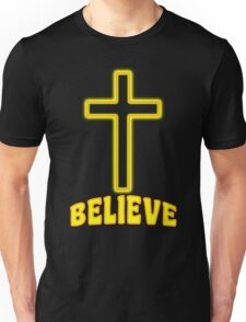 Jesus Christ Son of God Lord Believe Unisex T-Shirt