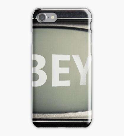 Obey statement T-Shirt iPhone Case/Skin