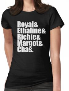 The Royal Tenenbaums Cast Womens Fitted T-Shirt