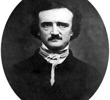 Edgar Allan Poe by asdmarisol