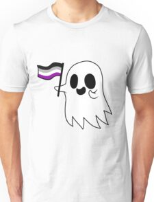 Asexual Pride Ghost Unisex T-Shirt