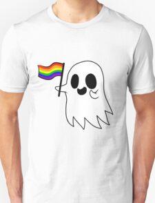 Gay Pride Ghost Unisex T-Shirt