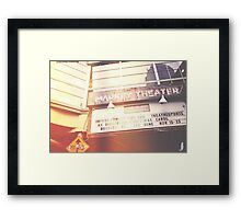 Market Theater Framed Print