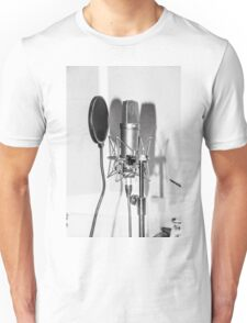 Microphone , sound recording equipment for singing Unisex T-Shirt