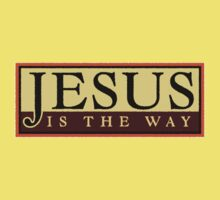 Jesus Is The Way Kids Clothes