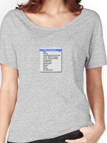 Select your gender Women's Relaxed Fit T-Shirt