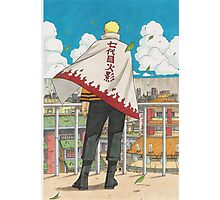 Naruto Hokage Photographic Print