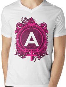 FOR HER - A Mens V-Neck T-Shirt