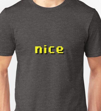 """Runescape """"nice""""  Unisex T-Shirt"""