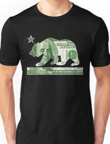California Money Bear Flag (vintage distressed look) Unisex T-Shirt