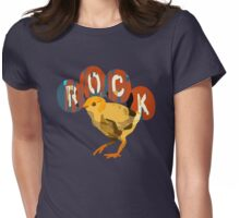 Rock chick Womens Fitted T-Shirt