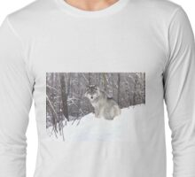 My Wolf : The kiss of the wolf Long Sleeve T-Shirt