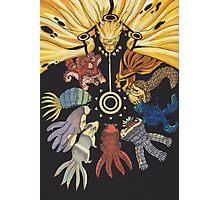 Naruto - Bijuu  Photographic Print