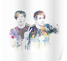 Phil Lester and Dan Howell Poster