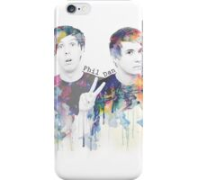 Phil Lester and Dan Howell iPhone Case/Skin