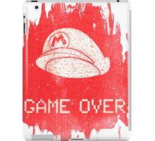 Game Over Mario iPad Case/Skin