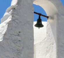 Church of Panagia Paraportiani, Mykonos, Greece Sticker