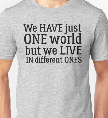 inspirational dire straits rock lyrics peace hippie t shirts Unisex T-Shirt