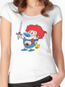 Stimp-o Women's Fitted Scoop T-Shirt