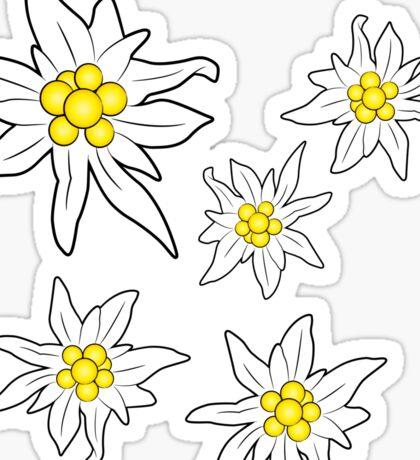 Edelweiss Sticker