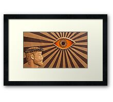 Ami Nº 1985 - In the name of the Holy Spirit Framed Print