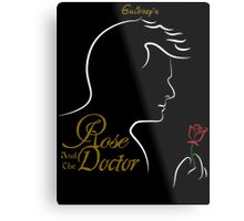 Rose and the Doctor Metal Print
