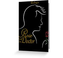 Rose and the Doctor Greeting Card