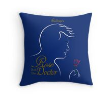 Rose and the Doctor Throw Pillow