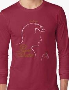 Rose and the Doctor Long Sleeve T-Shirt