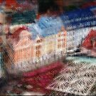 Tirgoņu iela, Vecrīga by thescatteredimage