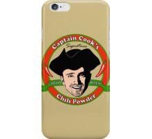 Captain Cook's Chili P iPhone Case/Skin