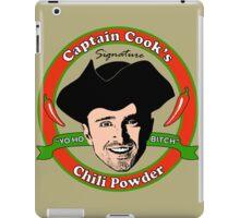 Captain Cook's Chili P iPad Case/Skin