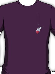 Hooked Heart Couples Design (For Him) T-Shirt