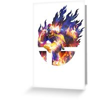 Smash Captain Falcon Greeting Card