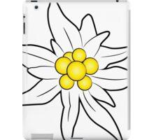 Edelweiss flower iPad Case/Skin