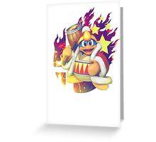 Smash Dedede Greeting Card