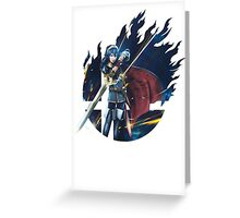 Smash Lucina Greeting Card
