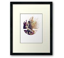 Smash Robin (Female) Framed Print