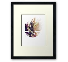 Smash Robin (Female) Framed Print