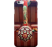 Floral Carving iPhone Case/Skin
