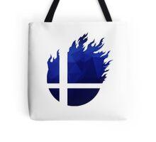 Super Smash Bros. Logo - Blue EVO Style Tote Bag